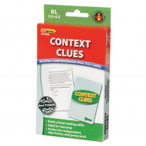 EP-3404 - Context Clues Practice Cards Reading Levels 5.0-6.5 in Comprehension