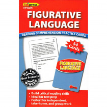 EP-3409 - Figurative Language Reading Comprehension Practice Cards Red in Comprehension