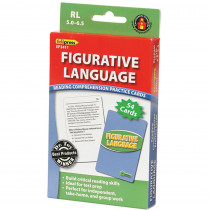 EP-3411 - Figurative Language Practice Cards Reading Levels 5.0-6.5 in Comprehension