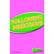 EP-3414 - Following Directions Practice Cards Reading Level 5.0-6.5 in Following Directions