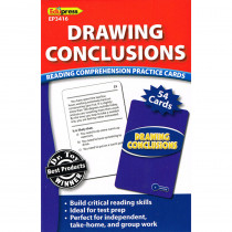 EP-3416 - Drawing Conclusions Reading Comprehension Practice Cards Blue in Comprehension