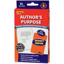 EP-3425 - Authors Purpose Rcpc Blue Level in Comprehension