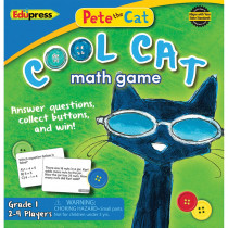 EP-3531 - Pete The Cat Cool Cat Math Game G-1 in Math