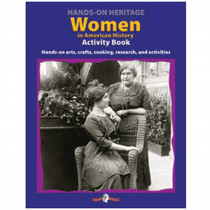 EP-353 - Hands-On Heritage Activity Books Women In American History in History