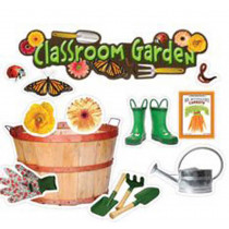 EP-3603 - Classroom Garden Mini Bulletin Board Set in Classroom Theme