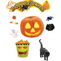 EP-3607 - Happy Halloween Mini Bulletin Board Set in Holiday/seasonal