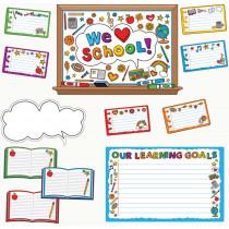 EP-360 - We Love School Bulletin Board Set in Miscellaneous
