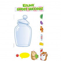 EP-3629 - Sweet Success Incentive Mini Bulletin Board Set in Motivational
