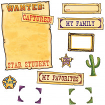 EP-3638 - Western Star Student Mini Bulletin Board Set in Motivational