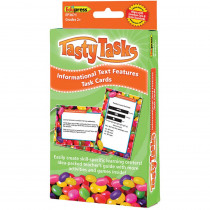 EP-3671 - Informational Text Language Arts Tasty Task Cards in Comprehension