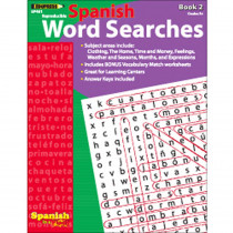 EP-461 - Spanish In A Flash Word Searches 2 in Language Arts