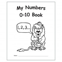 My Own Books: My Numbers 0-10 Book - EP-60006 | Teacher Created Resources | Numeration