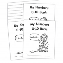 My Own Books: My Numbers 0-10 Book, 10-Pack - EP-60115 | Teacher Created Resources | Numeration