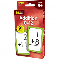 Additon 0-12 Flash Cards - EP-62033 | Teacher Created Resources | Flash Cards