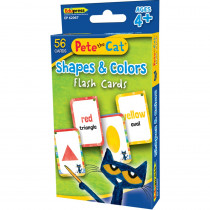 Pete the Cat Shapes & Colors Flash Cards - EP-62067 | Teacher Created Resources | Resources