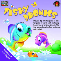 EP-LRN271 - Fishy Phonics Beginning And Ending Blends in Language Arts