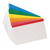 ESS04753 - Oxford Color-Coded Index Cards 3X5 in Index Cards