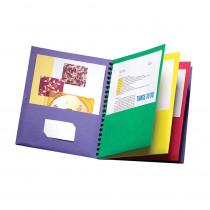ESS99656 - Oxford Eight-Pocket Organizer Multi Color in Organizer Pockets