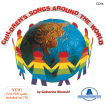 ETACD56 - Childrens Songs Around The World in Cds