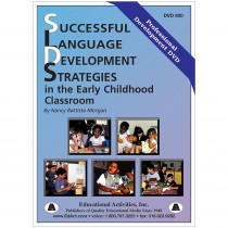 ETADVD800 - Language Development Strategies In The Early Childhood Classroom in Dvd & Vhs