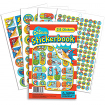 EU-609403 - Dr Seuss Corners Sticker Book in Stickers
