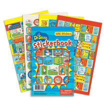 EU-609404 - Dr Seuss Awesome Sticker Book in Stickers