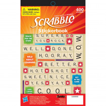 EU-609693 - Scrabble Stickerbook in Stickers