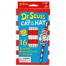 EU-610101 - Cat In The Hat Pencil Toppers in Pencils & Accessories