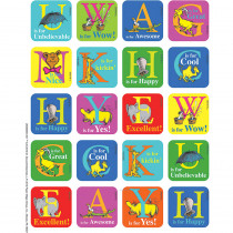 EU-655056 - Dr Seuss Abc Theme Stickers in Stickers