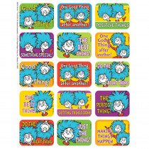 EU-657413 - Dr Seuss Thing 1 And 2 Success Stickers in Stickers