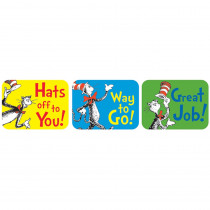 EU-658016 - Cat In The Hat Success Stickers in Stickers