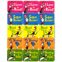 EU-658022 - Cat In The Hat Reading Success Stickers in Stickers