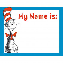 EU-659750 - Cat In The Hat Name Tags in Name Tags