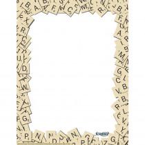 EU-812113 - Scrabble Letter Tiles Computer Paper in Design Paper/computer Paper