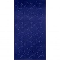 EU-82412 - Stickers Foil Stars 1/2 In 250/Pk Blue in Stickers