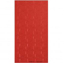 EU-82462 - Stickers Foil Stars 1/2In Red 250Pk in Stickers