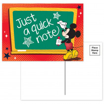EU-831900 - Mickey Teacher Cards in Postcards & Pads