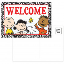 EU-831909 - Peanuts Welcome Teacher Cards in Postcards & Pads