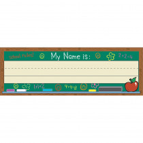 EU-833120 - Self-Adhesive Name Plates Chalkboard in Name Plates