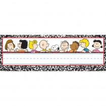 EU-833133 - Peanuts Classic Characters Self Adhesive Name Plates in Name Plates