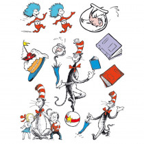 EU-836025 - Cat In The Hat Characters 12 X 17 Window Clings in Window Clings
