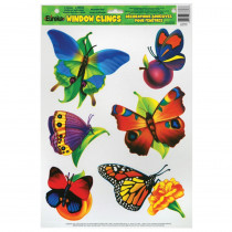 EU-83603 - Window Cling Butterflies 12 X 17 in Window Clings