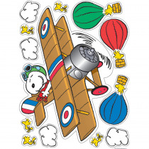 EU-836047 - Peanuts Flying Ace Window Clings in Window Clings