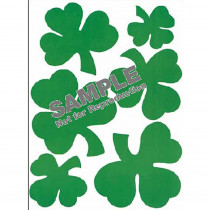 EU-836540 - Window Cling Shamrocks in Window Clings
