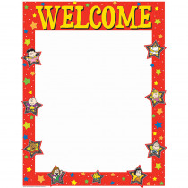 EU-837021 - Peanuts Welcome 17X22 Poster in Classroom Theme