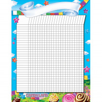 EU-837025 - Candy Land Incentive Chart 17X22 Poster in Incentive Charts