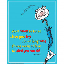 EU-837031 - Dr Seuss Try Something New 17X22 Poster in Classroom Theme