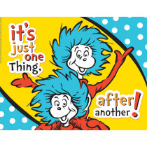EU-837032 - Dr Seuss One Thing After Another 17X22 Poster in Classroom Theme