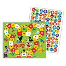 EU-837036 - Mickey Mouse Clubhouse Mickey Park Mini Reward Chart Plus Stickers in Incentive Charts