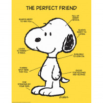 EU-837039 - Peanuts The Perfect Friend 17X22 Poster in Classroom Theme